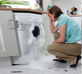 vệ sinh máy giặt tại Thuỵ Khuê