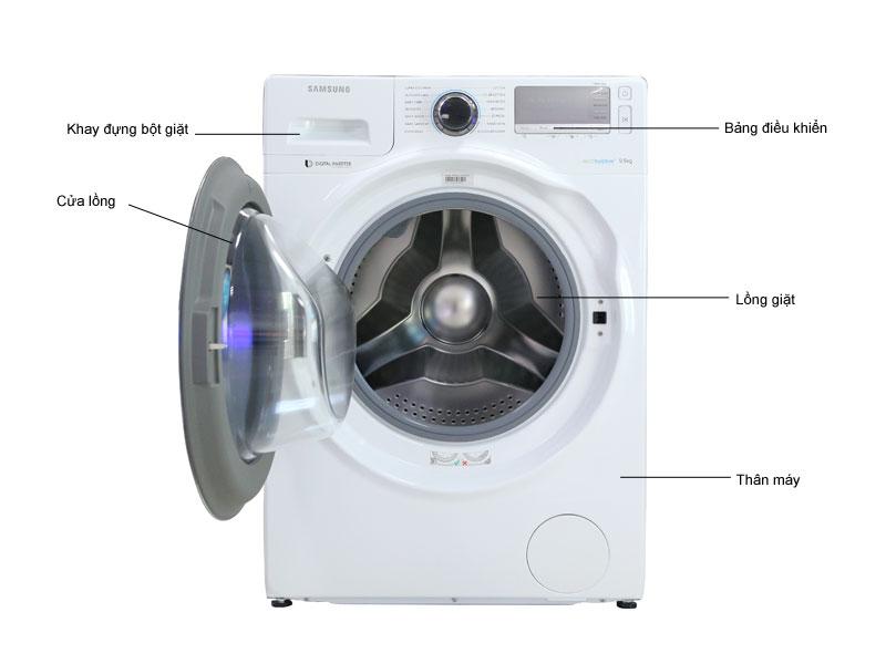 Vệ sinh máy giặt Lg tại Cầu Giấy
