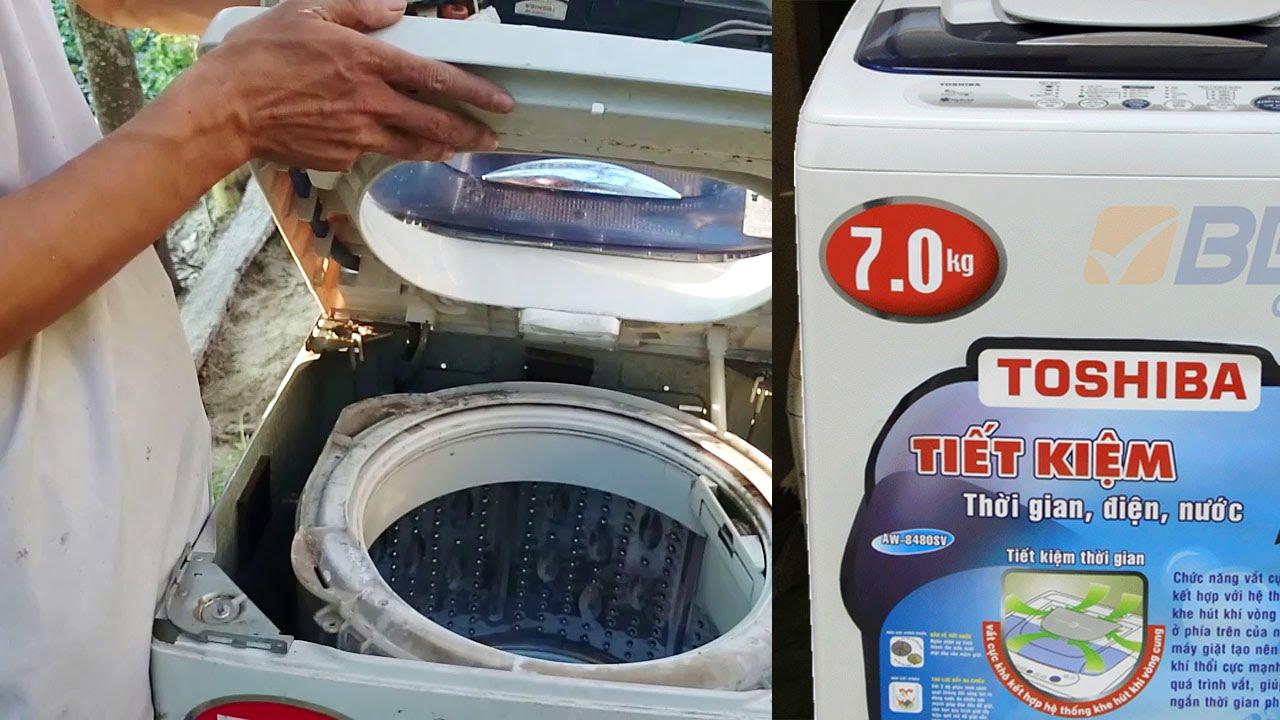 Sửa máy giặt Toshiba tại Cầu Giấy