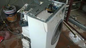 vệ sinh máy giặt tại Thượng Đình