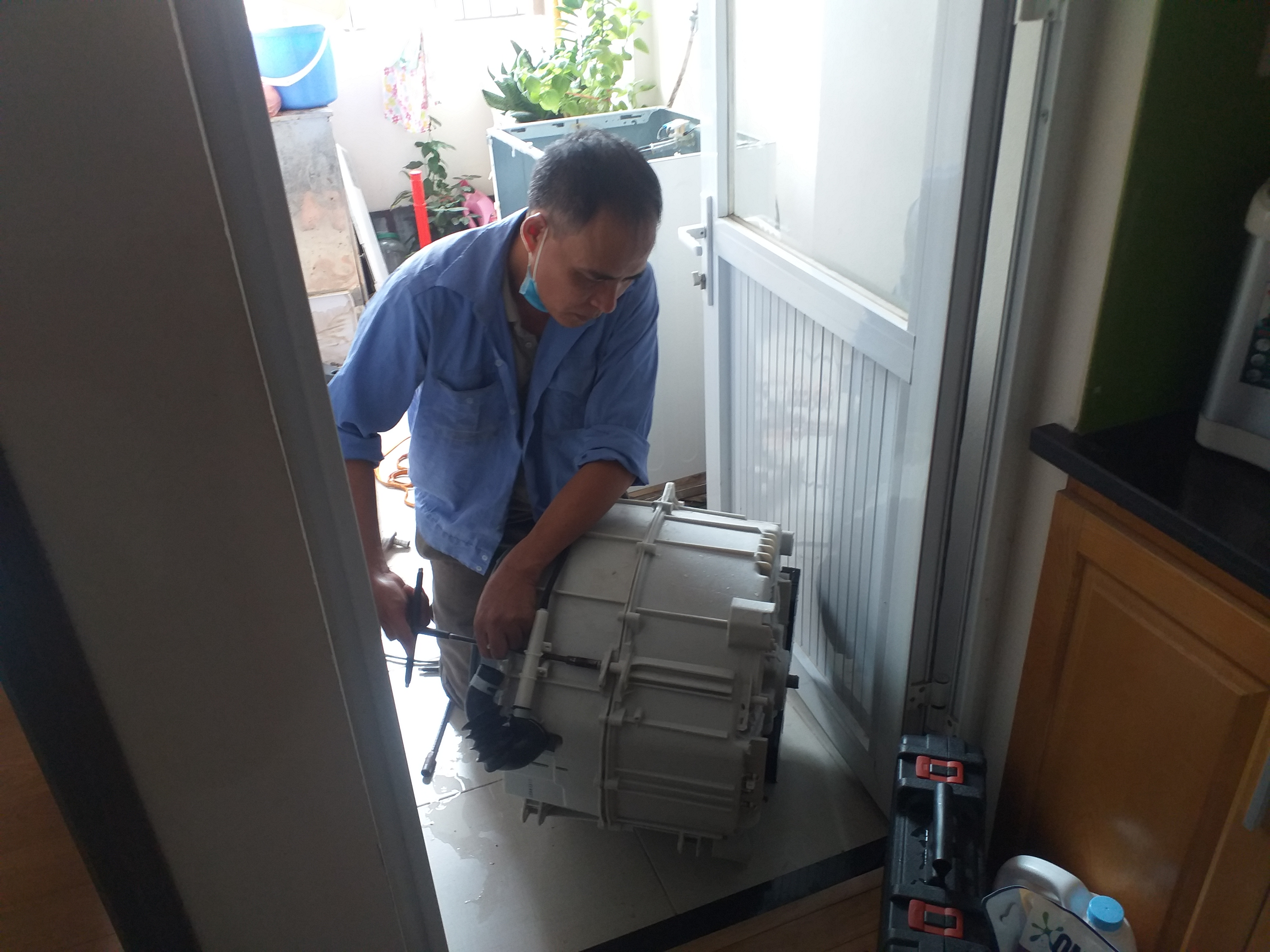Sửa máy giặt Electrolux ở quận Ba Đình